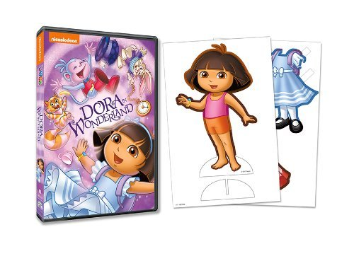 Dora The Explorer Dora In Wonderland DVD Nr
