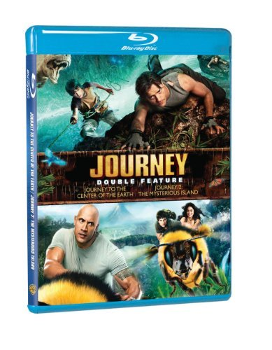 Journey To The Center Of The Earth Journey 2 Double Feature Blu Ray Pg