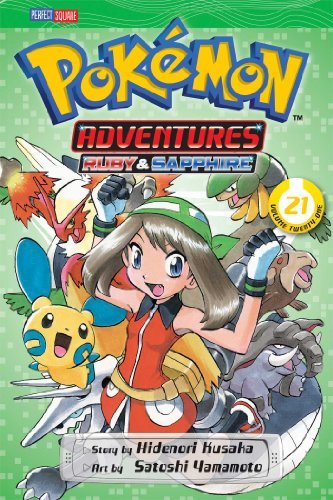 Hidenori Kusaka Pokemon Adventures Vol. 21