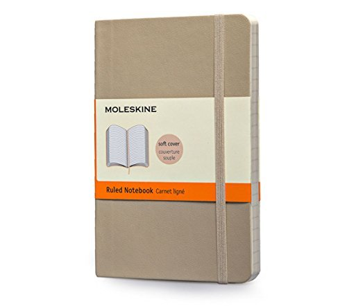 Moleskine Moleskine Classic Small Ruled Notebook Khaki Beige