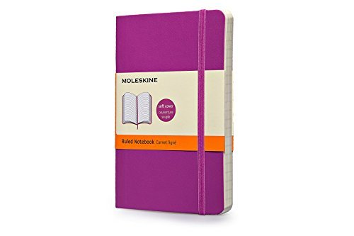 Moleskine Moleskine Classic Small Ruled Notebook Orchid Purple