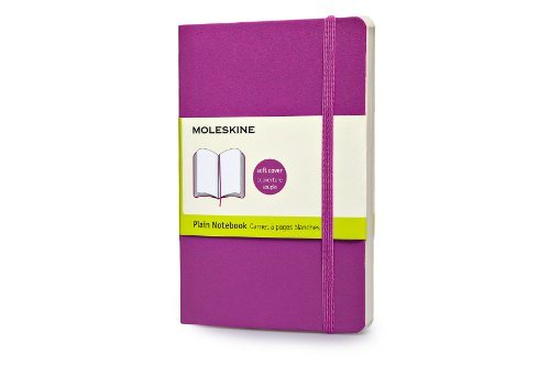 Moleskine Moleskine Classic Small Plain Notebook Orchid Purple