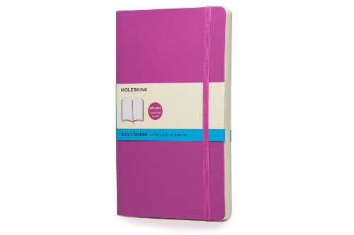 Moleskine Moleskine Classic Large Dotted Notebook Orchid Purple