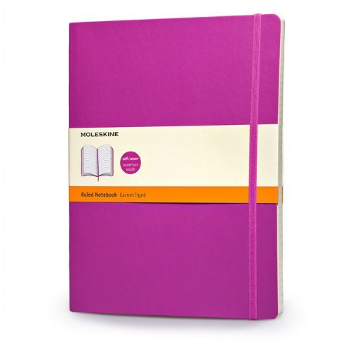 Moleskine Moleskine Classic Extra Large Ruled Notebook Orchid Purple