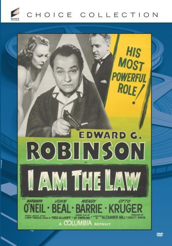 I Am The Law Beal Loft Robinson Barrie DVD Mod This Item Is Made On Demand Could Take 2 3 Weeks For Delivery