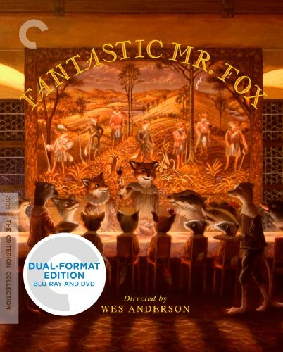 Fantastic Mr. Fox Clooney Streep Schwartzman Murray Blu Ray DVD Pg Ws Criterion Collection