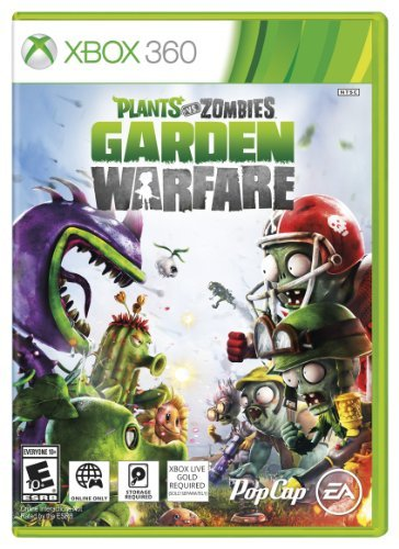 Xbox 360 Plants Vs Zombies Garden Warfare Electronic Arts E10+