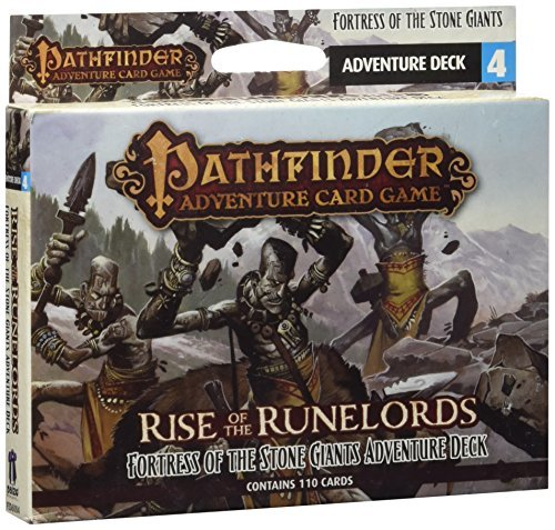 Mike Selinker Pathfinder Adventure Card Game Rise Of The Runelords Deck 4 Fortress Of The St