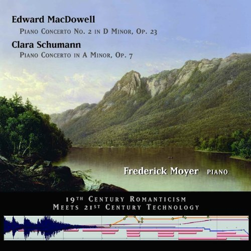 Macdowell Schumann Two Piano Concerti Moyer (pno)