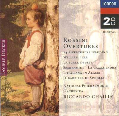 Riccardo Chailly Rossini Overtures 14 Overtures