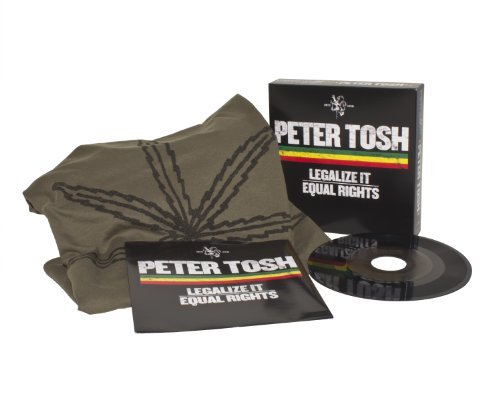 Peter Tosh Threads & Grooves Legalize It 7 Inch Incl. Large T Shirt B W Equal Rights