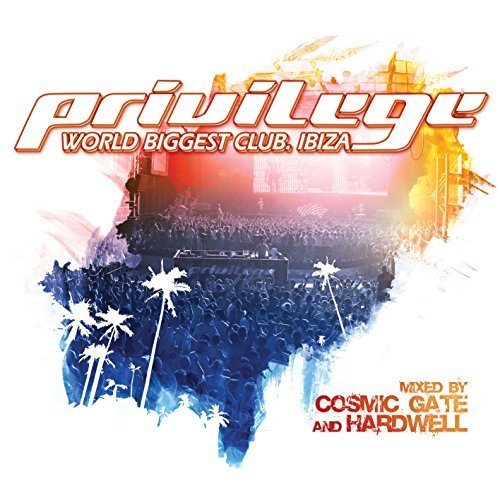 Cosmic Gate & Hardwell Privilege Ibiza (world Biggest 2 CD Set