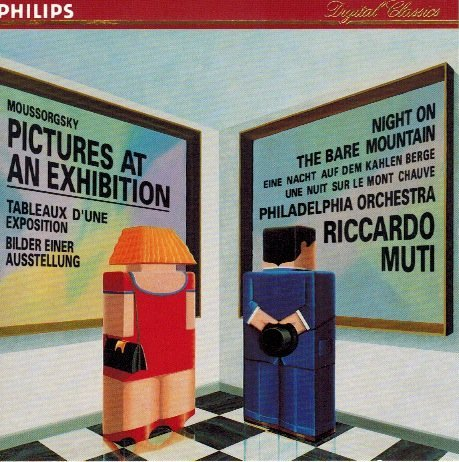 Modest Mussorgsky Riccardo Muti Philadelphia Orche Moussorgsky Pictures At An Exhibition Night On