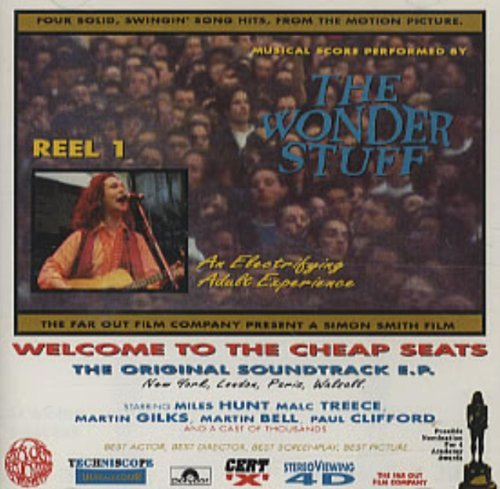 Wonder Stuff Welcome To The Cheap Seats CD Uk Polydor 1992
