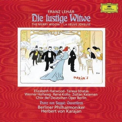 Lehar Suppe Merry Widow Comp Operetta Ovt