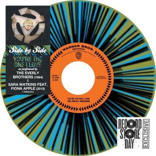 Sara & Everly Brothers Watkins You're The One I Love 7 Inch Single