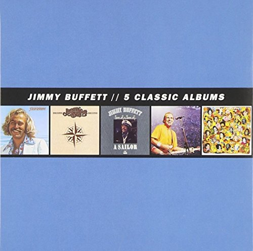 Jimmy Buffet 5 Classic Albums 5 CD