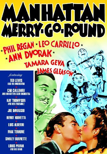 Manhattan Merry Go Round (1937 Regan Calloway Dimaggio Prima Bw Nr