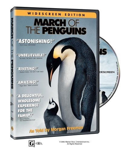 Morgan Freeman Charles Berling Romane Bohringer Ju March Of The Penguins