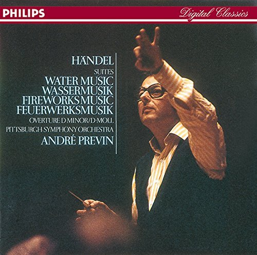 Handel Harty Previn Pittsburgh Symphony Orch Water Music Royal Fireworks