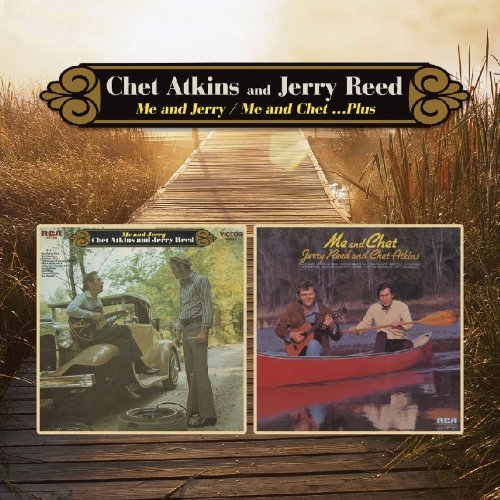Chet & Jerry Reed Atkins Me & Jerry Me & Chet 2 For 1