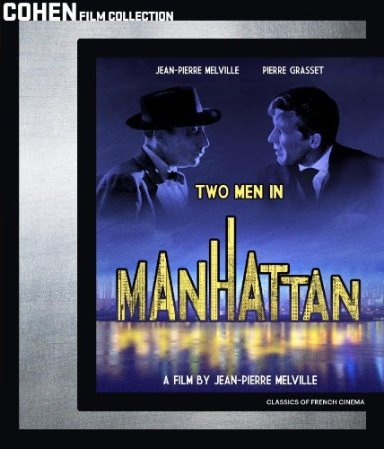 Two Men In Manhattan Two Men In Manhattan Blu Ray Ws Fra Lng Nr