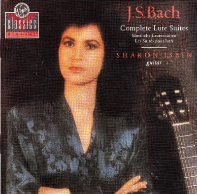 Sharon Isbin Bach Complete Lute Suites