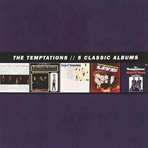 Temptations 5 Classic Albums 5 CD