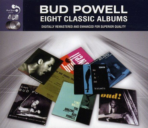 Bud Powell Eight Classic Albums Import Gbr 4 CD