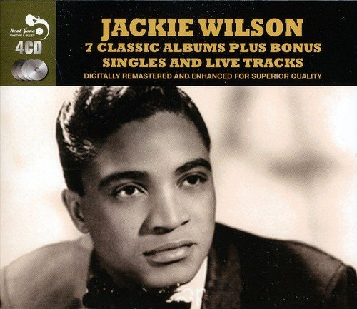 Jackie Wilson Seven Classic Albums Import Gbr 4 CD