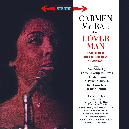 Carmen Mcrae Sings Lover Man & Other Billie Import Esp 2 On 1