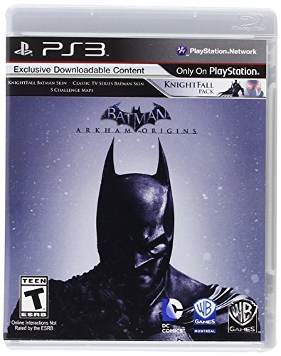 Ps3 Batman Arkham Origins Exclusive Downloadable Conte