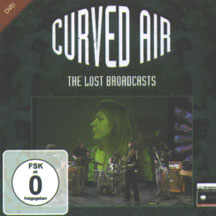 Curved Air Lost Broadcasts