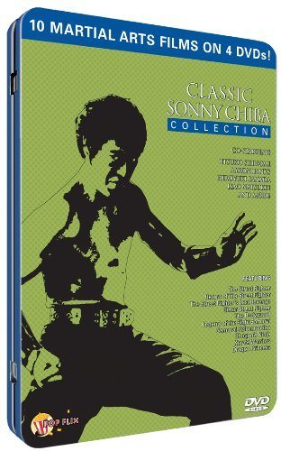 Classic Sonny Chiba Collection Chiba Sonny Tin R 4 DVD