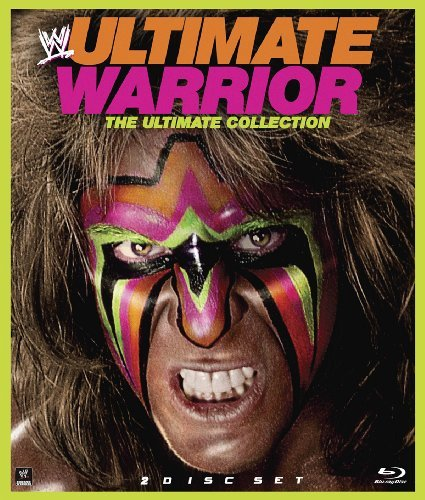 Wwe Ultimate Warrior Blu Ray DVD Tvpg Ws