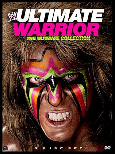 Wwe Ultimate Warrior DVD Tvpg Fs
