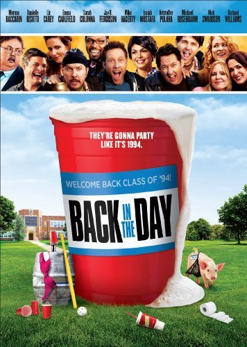 Back In The Day Rosenbaum Baccarin Swardson DVD R