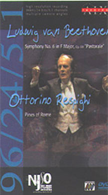 Beethoven Respighi Symphony No. 6 Pines Of Rome DVD Audio Macal New Jersey So