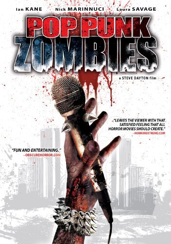 Pop Punk Zombies Kane Marinucci Savage DVD R Nr