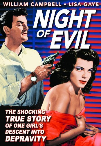 Night Of Evil (1962) Campbell Gaye Bw Nr