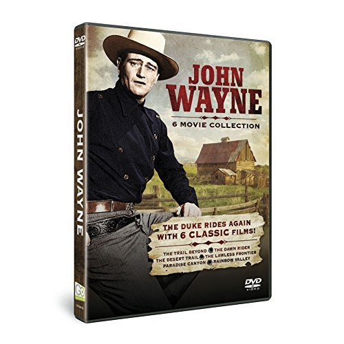 John Wayne John Wayne 6 Movie Collection Nr