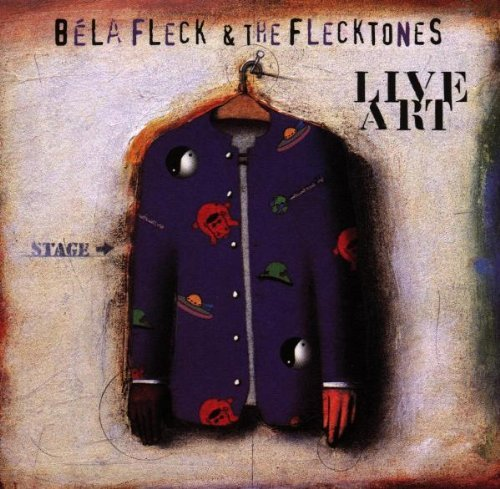 Béla Fleck & The Flecktones Live Art 2 CD Set