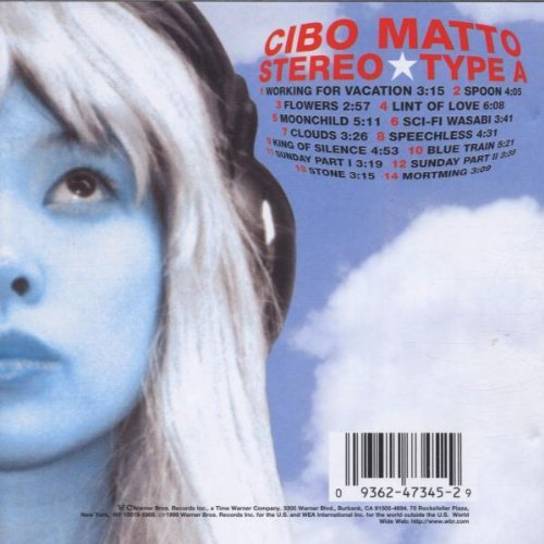 Cibo Matto Stereo Type A CD R