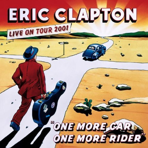 Eric Clapton One More Car One More Rider 2 CD Set Incl. Bonus DVD
