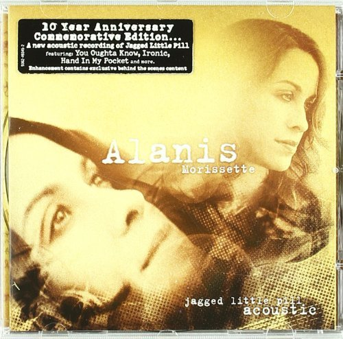 Alanis Morissette Jagged Little Pill Acoustic Enhanced CD