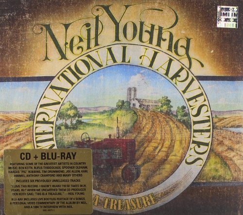 Neil International Harve Young Treasure Blu Ray Incl. CD