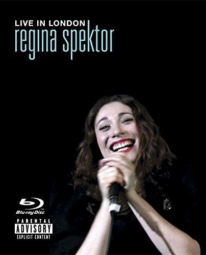 Regina Spektor Live In London Explicit Blu Ray Incl. CD