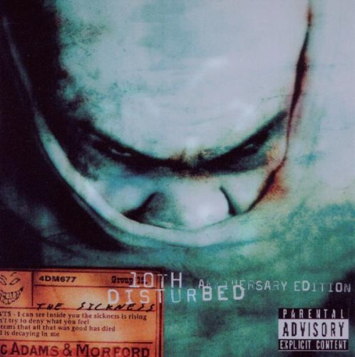 Disturbed Sickness 10th Anniversary Edit Explicit Pa Version