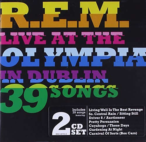 R.E.M. Live At The Olympia 2 CD Set