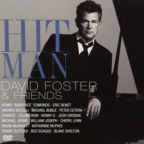 David & Friends Foster Hit Man David Foster & Friend Incl. Bonus DVD